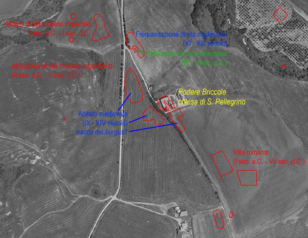 Foto: Briccole, le evidenze riconosciute attraverso le ricerche di superficie