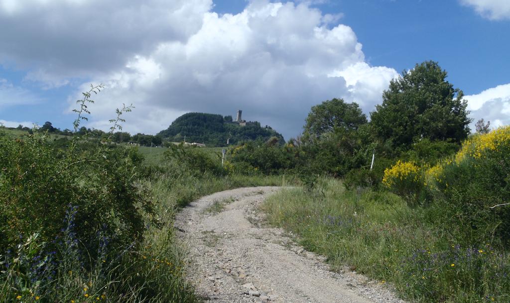 Foto: Radicofani, antica via di accesso al borgo
