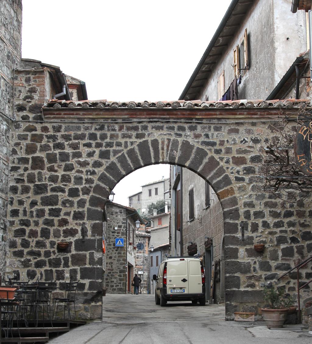 Foto: Radicofani, una delle porte del borgo